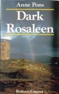 """C 12)  """"Dark Rosaleen"""" Dédicacé Par L'auteur """"Anne PONS"""" Original De 1991 (263 Pg (Fmt A5) - Autographed"""