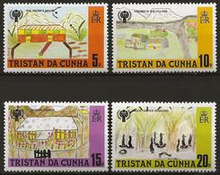 TRISTAN DA CUHNA: **, N° YT 263 à 266, Série, TB - Tristan Da Cunha