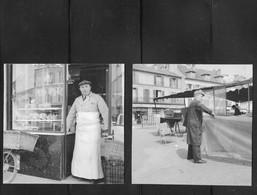 CHAVILLE PHOTOS ORIGINALES DE COMMERCANTS ANNÉES 50 - Unclassified