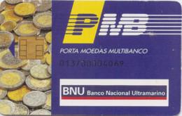 Portugal PMB BNU - Credit Cards (Exp. Date Min. 10 Years)
