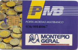 Portugal PMB MONTEPIO - Credit Cards (Exp. Date Min. 10 Years)