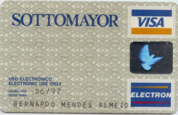 Portugal SOTTOMAYOR 1992_11 - Credit Cards (Exp. Date Min. 10 Years)