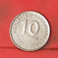 ARGENTINA 10 CENTAVOS 1950 -    KM# 44 - (Nº41802) - Argentina