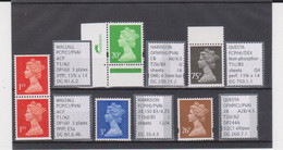 #19 GB Specialised Selection Of Machin Stamps - Série 'Machin'