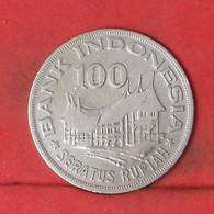 INDONESIA 100 RUPIAH 1978 -    KM# 42 - (Nº41817) - Indonesia