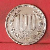 CHILE 100 PESOS 1984 -    KM# 226,1 - (Nº41822) - Chile