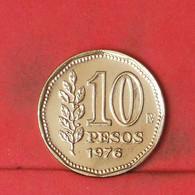 ARGENTINA 10 PESOS 1976 -    KM# 72 - (Nº41824) - Argentina