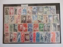 TIMBRE DE  FRANCE SUR UNE PLAQUETTE MNH - Verzamelingen