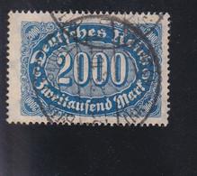 RAL1 /  Deutsches Reich Infla 1922 / 253 B ? Vollstempel Büdelsdorf Rendsburg - Used Stamps