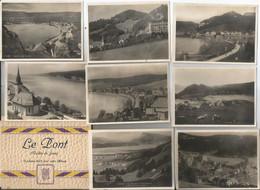 Pochette Complète De 12 Photos Souvenir - Le Pont - Vallée De La Joux - Suisse - Non Classificati