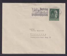 Propaganda Deutsches Reich Brief Nürnberg Parteitag EF 672 - Unclassified