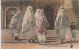 Scènes Et Types - Femmes Mauresques En Promenades - 1916 - Mauritania
