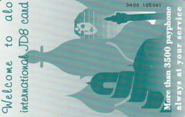 PHONE CARD GIORDANIA (E73.12.1 - Jordan