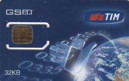 SIM WITH CHIP GSM ITALIA TIM (E73.32.6 - [2] Sim Cards, Prepaid & Refills