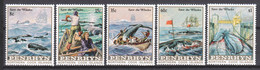 Penrhyn 1983 Mi 310-314 MNH SAVE THE WHALES - Whales