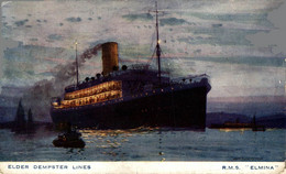 RMS ELMINA - ELDER DEMPSTER LINES   Ship Navy Navire Boat - Steamers