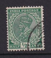 India: 1932/36   KGV      SG232    ½a    Used - 1911-35 King George V