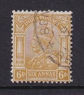 India: 1932/36   KGV      SG239    6a     Used - 1911-35 King George V