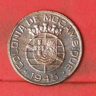 MOZAMBIQUE 1 ESCUDO 1945 -    KM# 74 - (Nº41863) - Mozambique