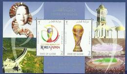 QATAR MNH 2002 JAPAN FIFA WORLD CUP - Qatar