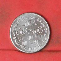 SRI LANKA 1 RUPEE 2016 -     (Nº41885) - Sri Lanka