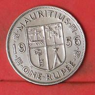 MAURITIUS 1 RUPEE 1956 -    KM# 35,1 - (Nº41891) - Mauritius