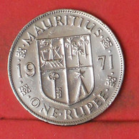 MAURITIUS 1 RUPEE 1971 -    KM# 35,1 - (Nº41892) - Mauritius