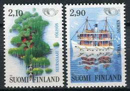 FINLANDIA 1991 - NORDEN 91 - TURISMO - YVERT Nº 1108-1109** - Nuevos