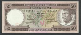 EQUATORIAL GUINEA. 50 PESETAS GUINEANAS. 7/7/1975. Pick 10. UNC / NEUF. - Equatorial Guinea