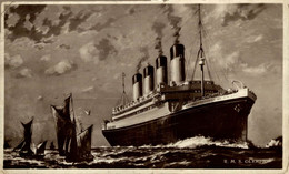 R.M.S. Olympic  Ship Navy Navire Boat - Steamers