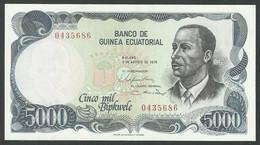 EQUATORIAL GUINEA. 5000 BIPWELE. 3/8/1979. Pick 17. UNC / NEUF. - Equatorial Guinea