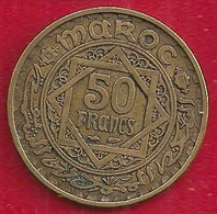 MAROC 50 FRANCS - 1371 - Morocco