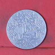 MOROCCO 1 FRANC 1924 -    KM# 36,2 - (Nº41914) - Morocco
