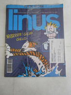 #  LINUS N 8 / 1992 PARI AL NUOVO MAI APERTO NEL SUO BLISTER - Prime Edizioni