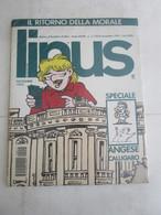 #  LINUS N 11 / 1992 PARI AL NUOVO MAI APERTO NEL SUO BLISTER - Prime Edizioni