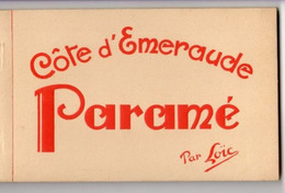 PARAME - COTE D'EMERAUDE ~ AN OLD POSTCARD BOOKLETT #2127109 - Parame