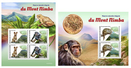 Guinea 2020 Mount Nimba Strict Nature Reserve. (351) OFFICIAL ISSUE - Sin Clasificación