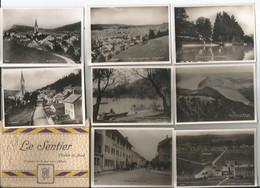 Pochette Complète De 12 Photos Souvenir - Le Sentier  - Vallée De La Joux - Suisse - Non Classificati