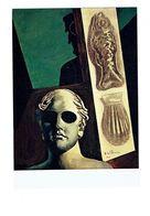 Cpm - Art - Peinture - Giorgio De Chirico - Portrait Prémonitoire -guillaume Apollinaire Coquille St Jacques Poisson - Paintings