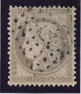 30 C Brun Pale N° 56 Obl Ancre Noire TB. - 1871-1875 Ceres