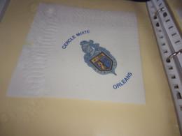 Serviette  Publicitaire  Militaire Cercle Mixte  ORLEANS - Company Logo Napkins