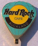 HARD ROCK CAFE - MONTGOLFIERE VERT CLAIR - AUCKLANG - NOUVELLE ZELANDE - EGF -                       (21) - Fesselballons