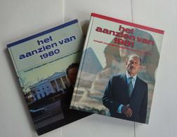 """Set Van 4 Boeken """" Het Aanzien"""" :  1980  + 1981 + 1984  + Terugblik Op 1983 - Unclassified"""