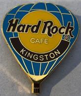 HARD ROCK CAFE - MONTGOLFIERE KINGSTON - JAMAÏQUE - EGF -                       (21) - Fesselballons