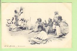 ALGERIE - ALGER - Mendiants - Superbe Plan - Photo Arnold VOLLENWEIDER N° 62 - Dos Simple - 2 Scans - Alger