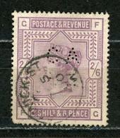 "G. BRETAGNE - VICTORIA N° Yvert 86 Obli. & PERFORÉ ""CA&S"" - Usados"