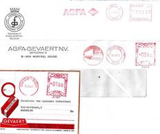 4 X Agfa Gevaert Oude God - 1956-1961 Mortsel 1978  2007 - Cinema