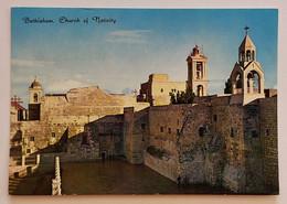 419/CPM - Palestine - Bethléem - Eglise De La Nativité - 1984 - Timbre égyptien - Palestine