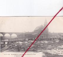 CP 62   -   WIMEREUX   -  Ce Qui Restait Des Cabines De La Plage - 11 Septembre 1903 - Unclassified