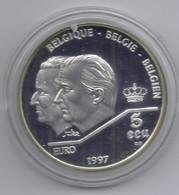 ALBERT II * 5 ECU 1997 * VERDRAG VAN ROME *  QP  * Nr 10273 - 09. Ecu